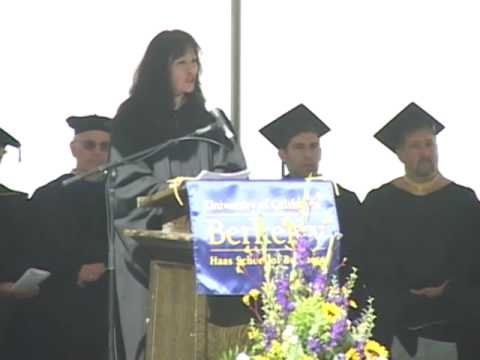 Undergraduate Commencement - Sabrina Simmons, CFO, Gap Inc. - Haas School