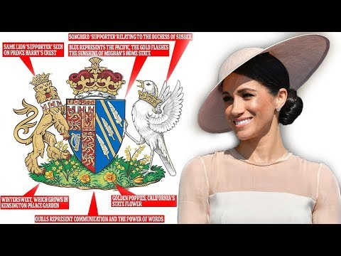 MEGHAN's Coat of Arms: What's the meaning behind the design?