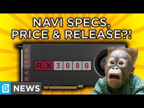 Navi RX 3080 Beats RTX 2070 For $249, 3rd Gen Ryzen Specs & Pricing Leaked!