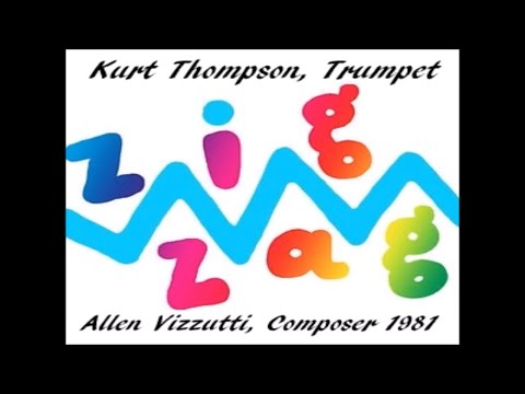 Just Released, first time since 1981: ZIGZAG Trumpet Solo studio version by Kurt Thompson