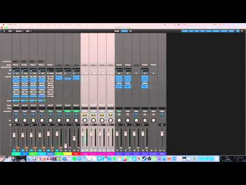How I Record Mics, Skype, Xbox, Live Streaming, all within Logic Pro X