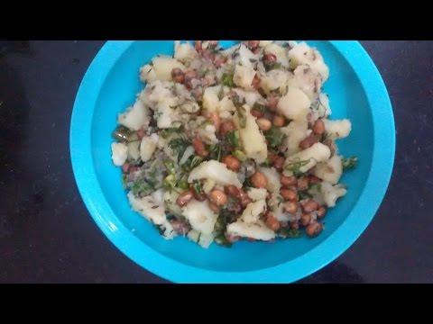 aalu ki faryali khichdi recipe in Hindi