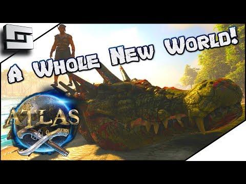 ATLAS: Pirates in Ark! I mean Arrrrrrrrk! Atlas Gameplay / Let's