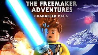 The Freemakers Trilogy Character Pack - LEGO Star Wars - The Force Awakens Gameplay