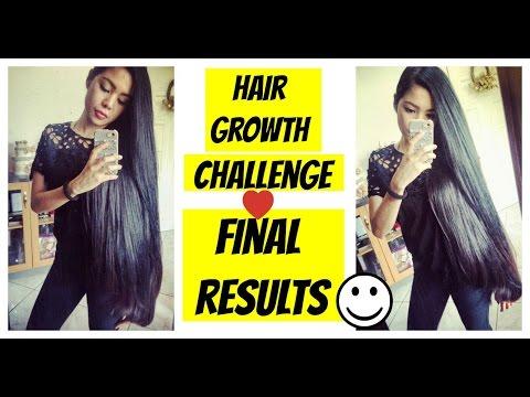 Hair Growth Challenge -30 days Final Length Update- How Much Did I Grow? Beautyklove