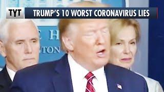 10 UNBELIEVABLE Coronavirus Lies from Trump