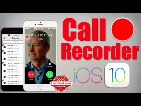 Call Recorder (iOS) Tweak to Record Calls and any System audio on iPhone