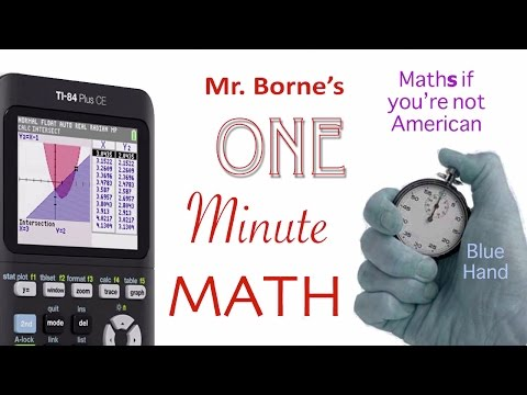 TI-84 How to find the Mean or Average