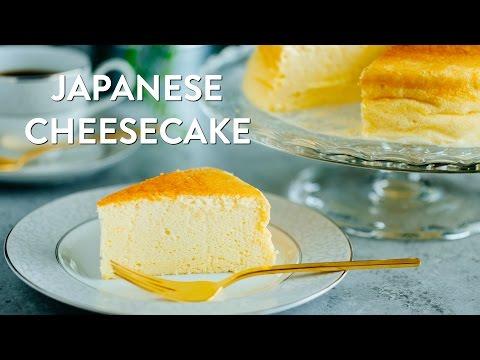 How To Make Japanese Cheesecake (Recipe) スフレチーズケーキの作り方(レシピ)