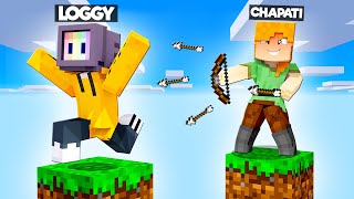 CAN LOGGY SURVIVE ON ONE BLOCK?? | MINECRAFT