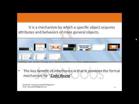 Object Oriented Programming - Q 07) Inheritance