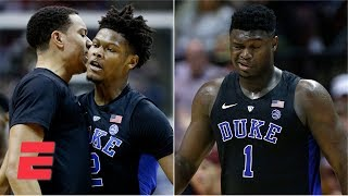 Duke survives Zion Williamson injury, beats Florida State on Cam Reddish's clutch 3 | Highlights
