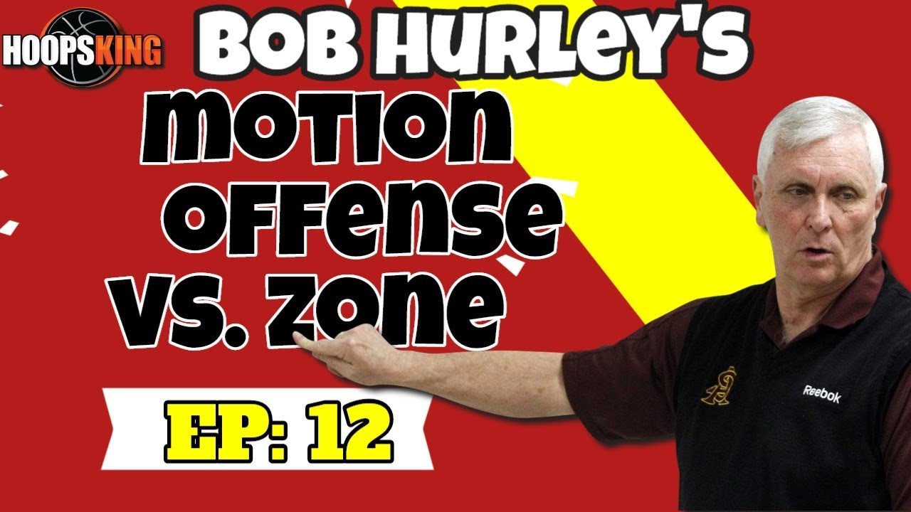 🏀How to Run Your Motion Offense in Basketball vs. Zone Defenses w/ Bob Hurley Sr.🏀