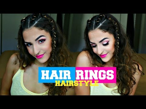 HAIR RING HAIRSTYLES // INSPIRED BY ARIANA GRANDE MANCHESTER CONCERT LOOK