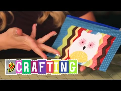 How to Craft a Duct Tape Owl Pouch