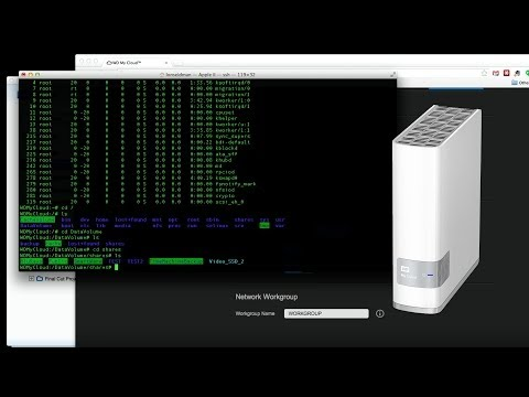 WD My Cloud Direct USB Transfer and SSH Access