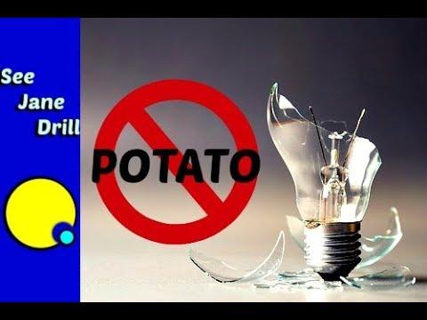 Safest Way to Remove a Broken Light Bulb
