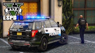 GTA 5 LSPDFR - US Route 68 Fatality in Blaine County