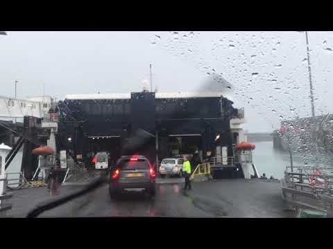 Jersey Ferry boarding for France / Jersey Embarquement ferry pour France