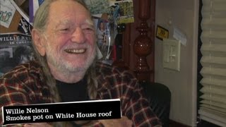 Willie Nelson: I rolled joint at White House