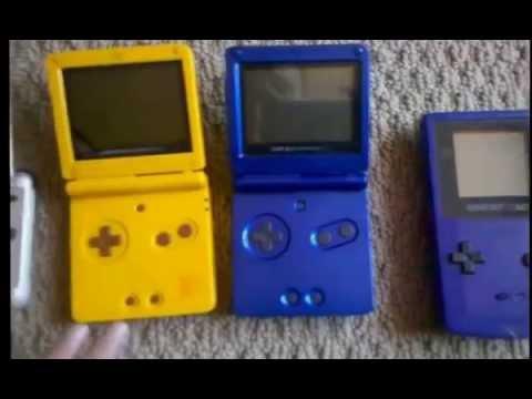 Nintendo 3DS XL DSi DS lite DS Game Boy Advance SP Game Boy Color