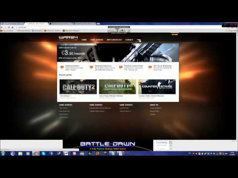 Tutorial How To Make A Free Server On CoD4 [HD]