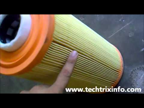 How air filter works. ✔