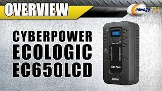 CyberPower EC650LCD ECO UPS Overview - Newegg TV