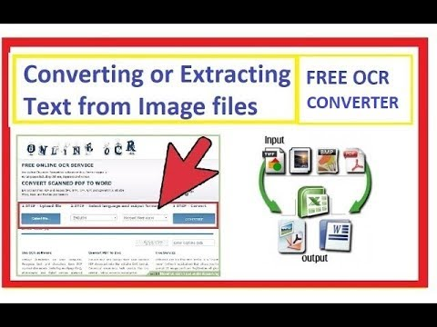 How to convert or extract text from Image or PDF files