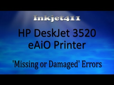 HP DeskJet 3520 Error Troubleshooting