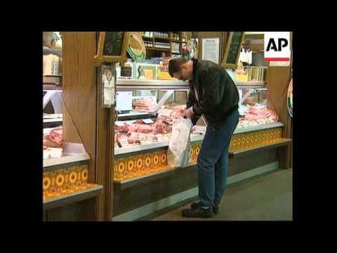 GERMANY: CONCERNS OVER MAD COW DISEASE AFFECTING HUMANS