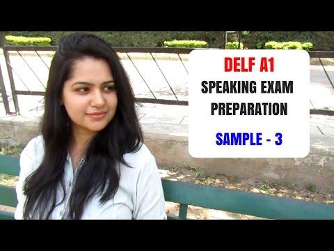 DELF A1 French Speaking Skills - Production orale l'examen - Simulation de l'oral DELF A1