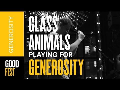 Glass Animals perform Gooey | GOODFest NYC Generosity