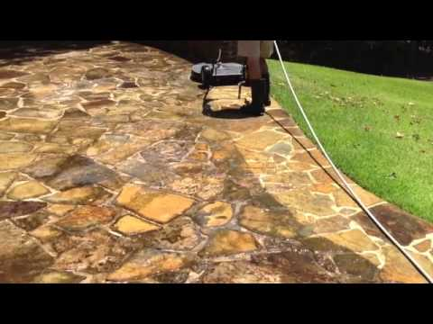 How To Clean Flagstone And Bricks