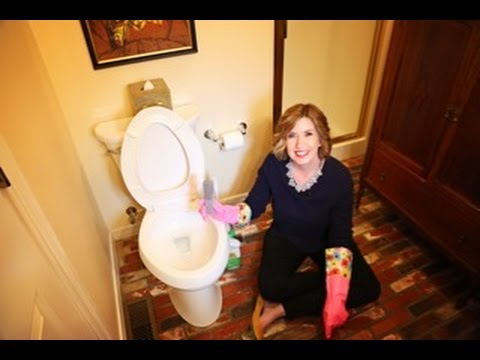 How to Deep Clean Your Toilet and Remove Mineral Deposits | Don't Look Under The Rug® with Amy Bates