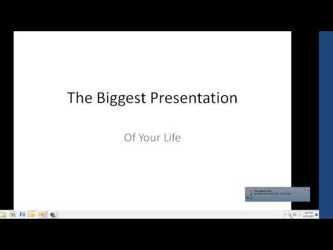 Presentation 101 - Turn Off Outlook 'Show New Email Desktop Alerts'