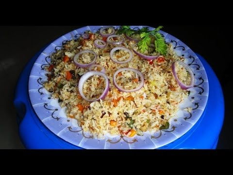 Vegetable Fried Rice Recipe: How to Make Vegetable Fried Rice in Andhra Style