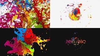 After Effects Template: Liquid Paint Splash Logo