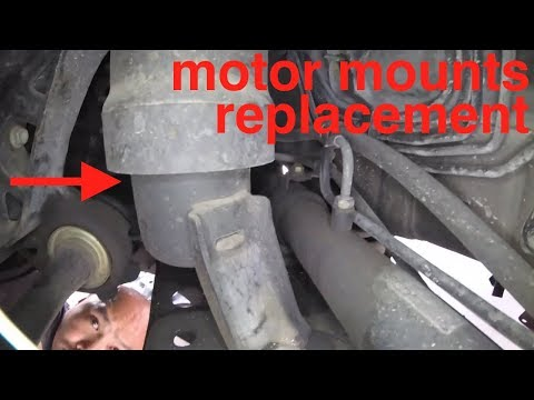 [motor mount noise] COMPLETE replacement Toyota Camry√ fix it angel