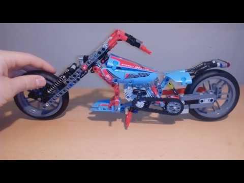 Lego 42036 - alternate Chopper - How to biuld