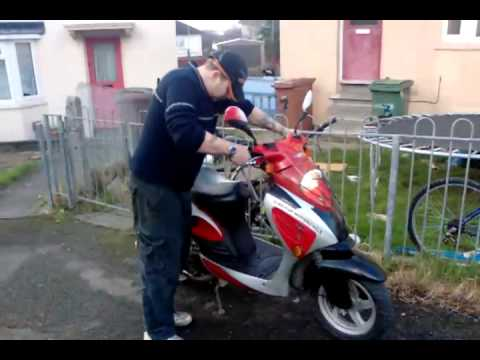 scooter tuning 4 stroke 125