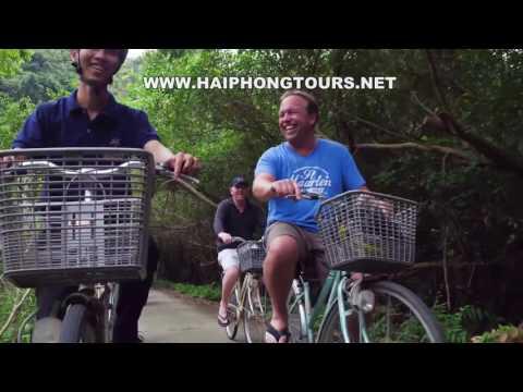 Orchid Cruise leaving from Dinh Vu Hai Phong to Halong bay, Bai Tu Long bay, Lan Ha bay