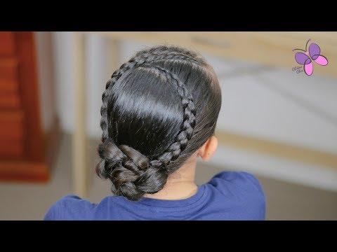 Peinado Para Graduacion De Preescolar O Primaria Peinados Para Nina