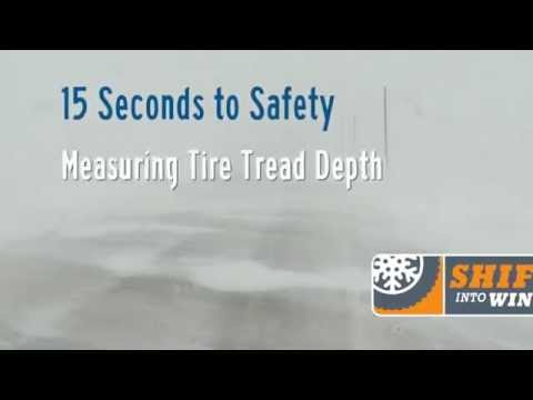 15 Seconds to Safety: Measuring Tire Tread Depth
