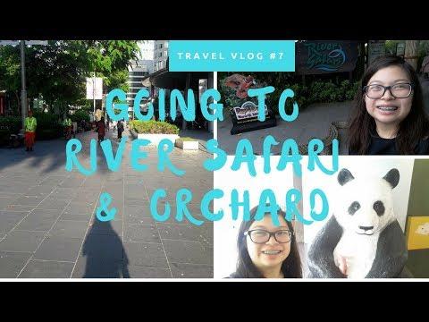 Travel Vlog 6 : Exploring River Safari  + Orchard alone?!