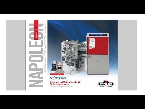 Napoleon® 9600 Series Gas Furnace -DeMark Home Ontario