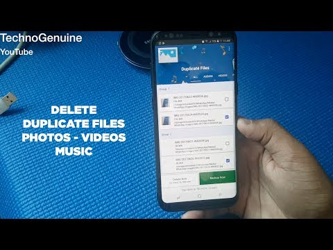 Remove Extra Duplicate Files on Samsung Galaxy S8 and S8+
