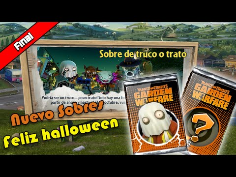 Plantas vs Zombies Garden Warfare-Sobre Truco o Trato Final