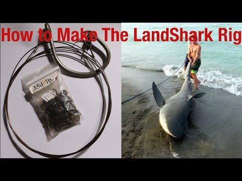 How to Shark Fishing Rig (Landbased and Boat)