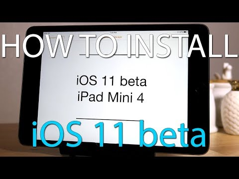 iOS 11 beta on iPad Mini 4 - Installation and Benchmarks